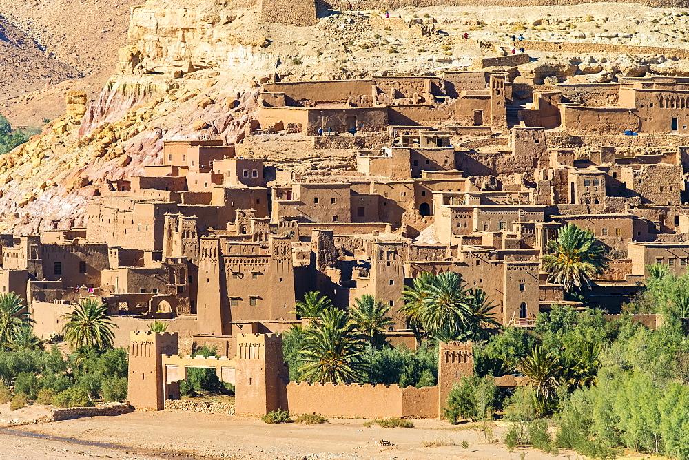 Ksar of Ait Ben Haddou (Ait Benhaddou), UNESCO World Heritage site, Ouarzazate Province, Souss-Massa-Draa, Morocco, North Africa, Africa - 1217-495