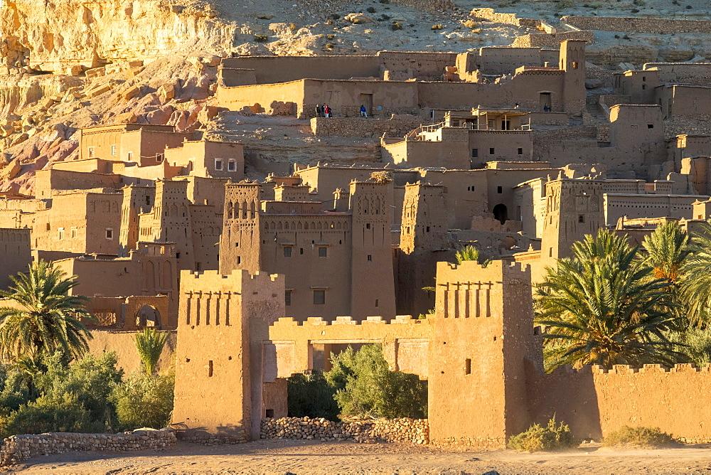 Ksar of Ait Ben Haddou (Ait Benhaddou), UNESCO World Heritage site, Ouarzazate Province, Souss-Massa-Draa, Morocco, North Africa, Africa - 1217-496