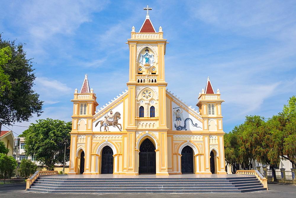 Tan Huong Church, Kon Tum, Kon Tum Province, Vietnam, Indochina, Southeast Asia, Asia