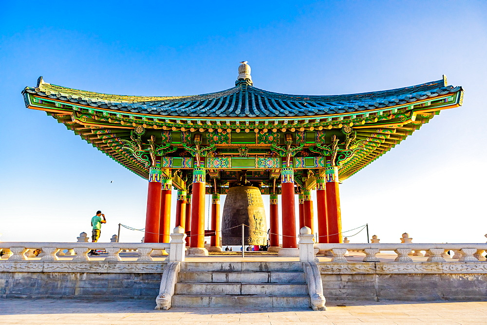 Korean Friendship Bell, San Pedro, California, United States of America, North America