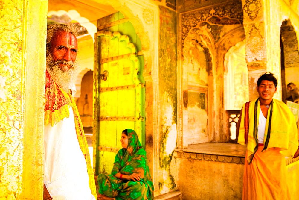 Sanskrit School Professor, Jaipur, Rajasthan, India, Asia