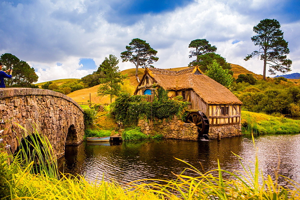 The Mill, Hobbiton, North Island, New Zealand, Pacific - 1218-157