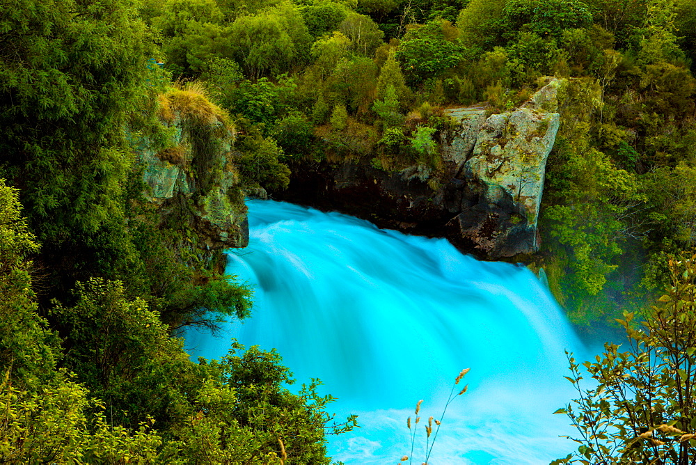 Huka Falls, Lake Taupo, North Island, New Zealand, Pacific