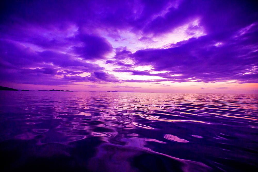 Sunset, Flores Island, Indonesia, Southeast Asia, Asia