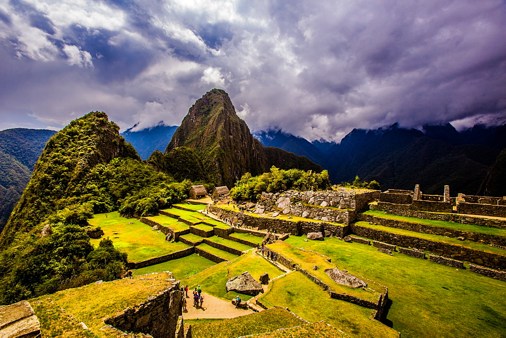 Machu Picchu Incan Ruins, UNESCO World Heritage Site, Sacred Valley, Peru, South America