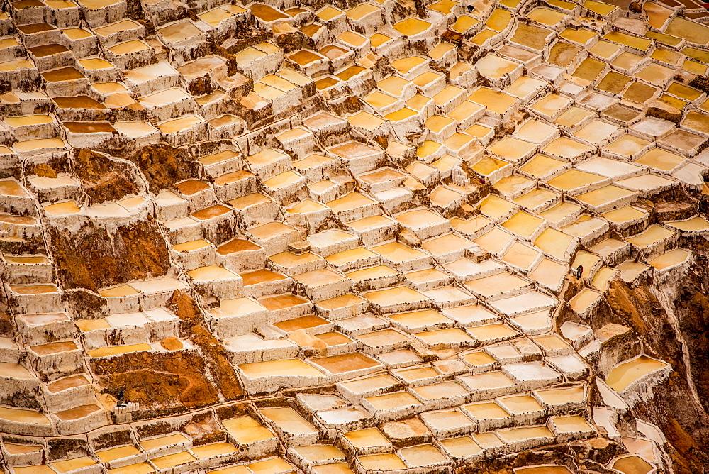 Salineras de Maras, Maras Salt Flats, Sacred Valley, Peru, South America