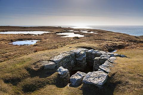 St. Cybi's Sacred Holy Well, Rhoscolyn Head, Holy Island, Anglesey, Wales, United Kingdom, Europe