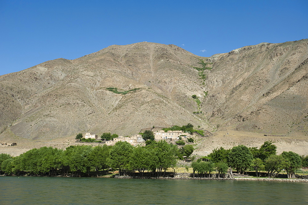The Panjshir River, Afghanistan, Asia
