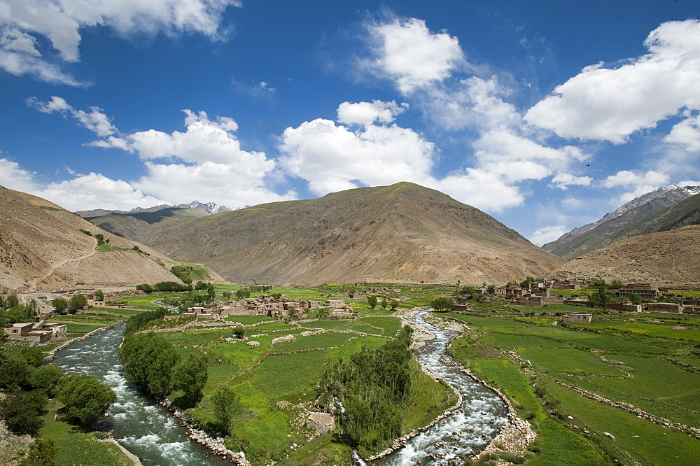 The Panjshir Valley, Afghanistan, Asia