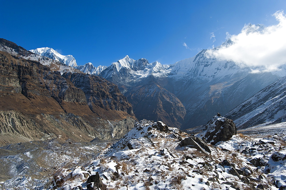 Annapurna Base Camp, Himalayas, Nepal, Asia