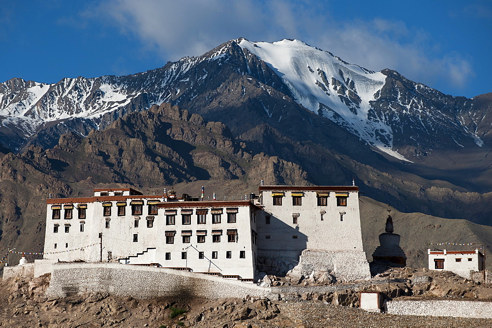 The Stakna monastery, Ladakh, India, Asia