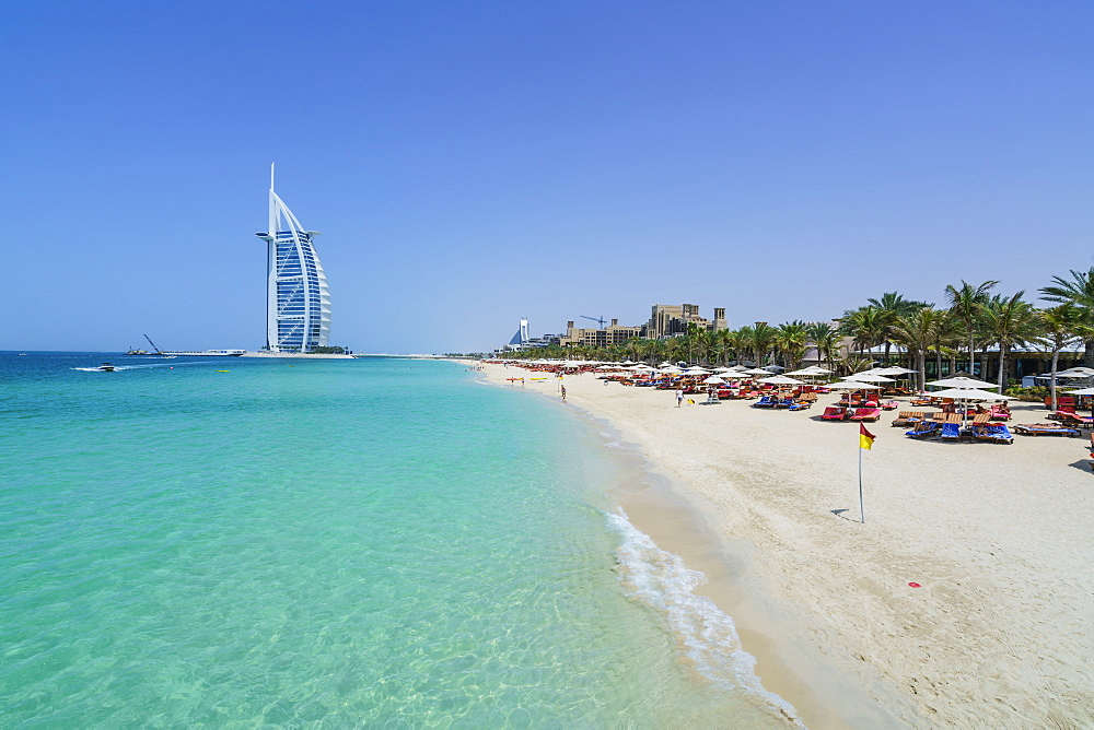 Burj Al Arab, Jumeirah Beach, Dubai, United Arab Emirates