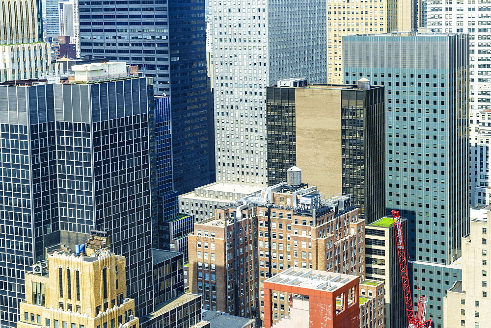 Manhattan skyscrapers, New York City, United States of America, North America