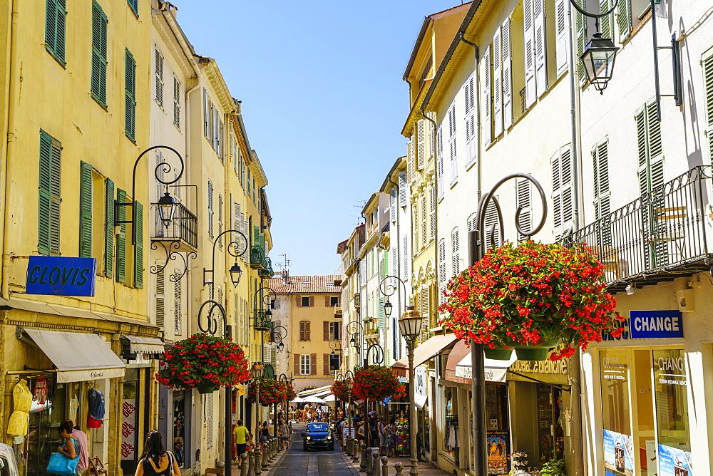 Antibes, Alpes-Maritimes, Cote d'Azur, Provence, French Riviera, France, Mediterranean, Europe