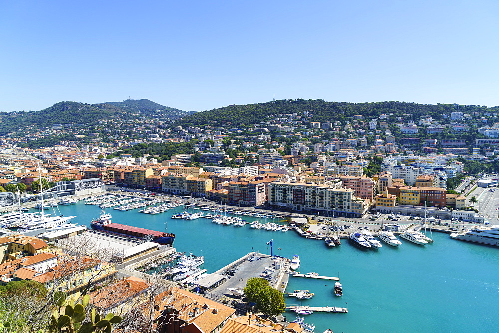 Port Lympia, Nice, Alpes-Maritimes, Cote d'Azur, Provence, French Riviera, France, Mediterranean, Europe