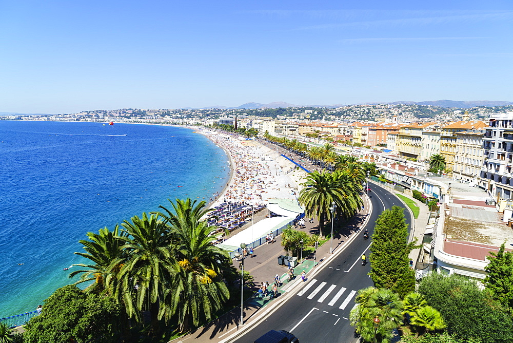 Nice, Alpes-Maritimes, Cote d'Azur, Provence, French Riviera, France, Mediterranean, Europe