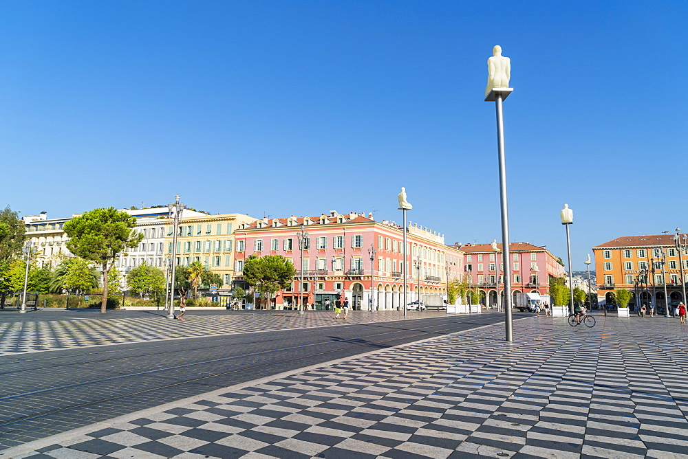 Place Messina, Nice, Alpes Maritimes, Cote d'Azur, Provence, France, Mediterranean, Europe