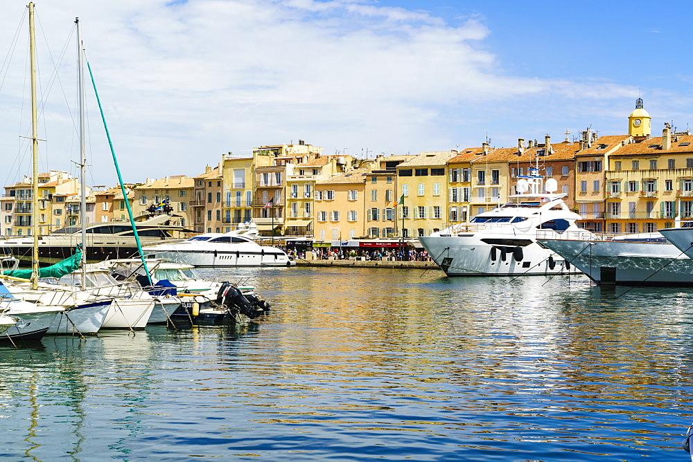 Harbour, Saint-Tropez, Cote d'Azur, France