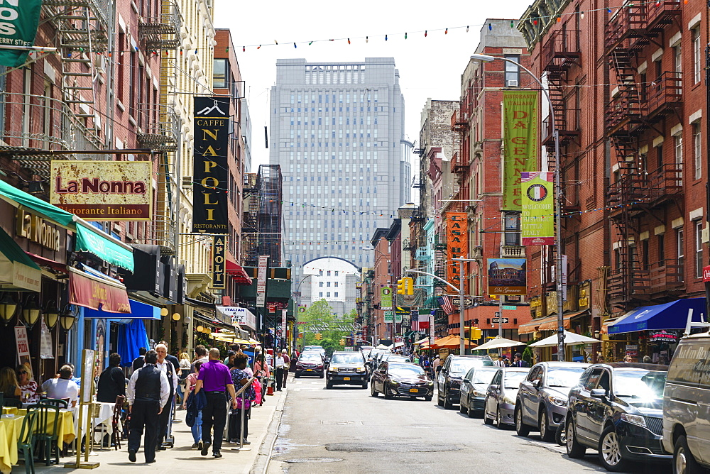 Little Italy, Manhattan, New York City, United States of America, North America