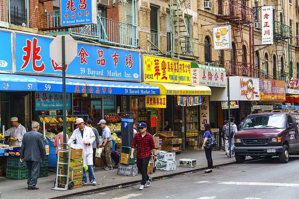 Chinatown, Manhattan, New York City, USA