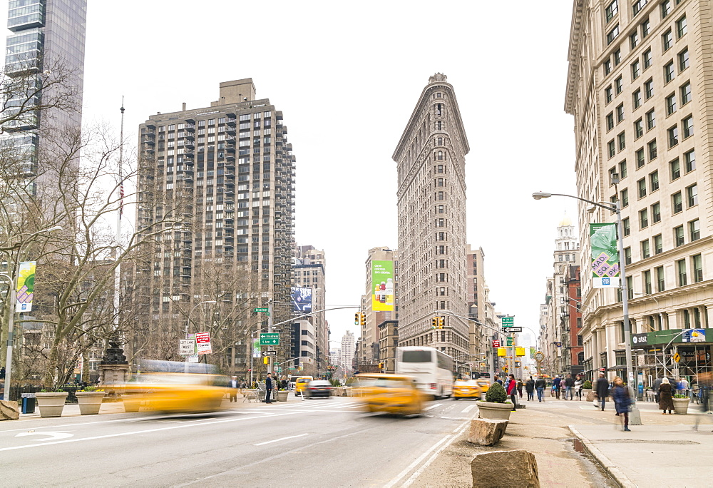 Flatiron Building, Madison Square, New York City, United States of America, North America