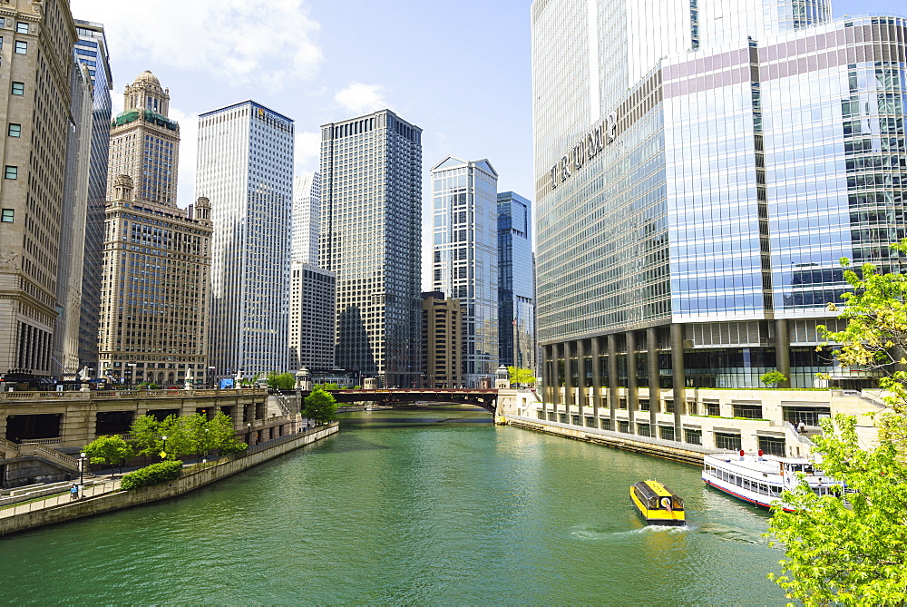 Chicago River, Chicago, Illinois