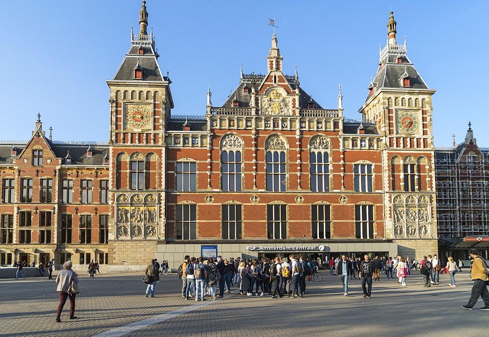 Central Station, Amsterdam, Netherlands, Europe
