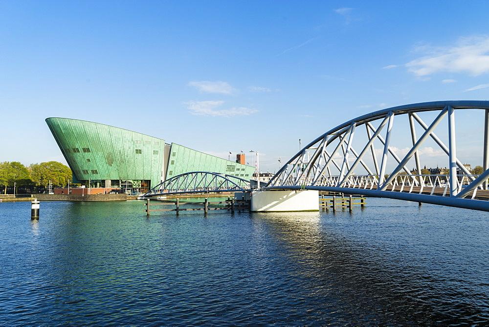 NEMO Science Museum, architect Renzo Piano, Amsterdam, Netherlands, Europe