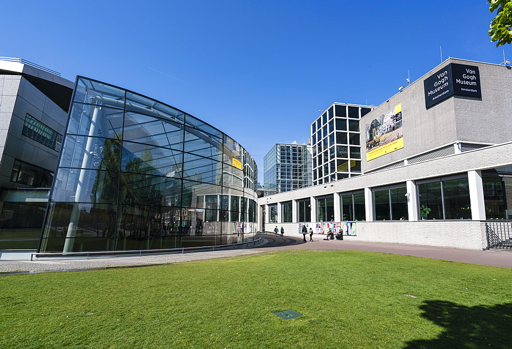 Van Gogh Museum, Amsterdam, Netherlands, Europe