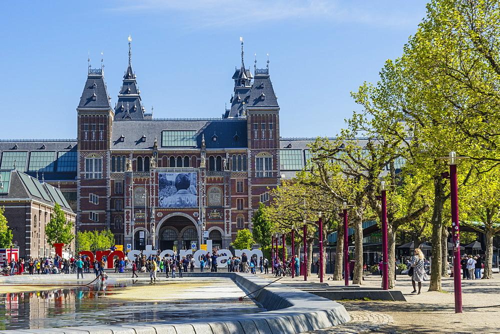 Rijksmuseum, Amsterdam, Netherlands, Europe