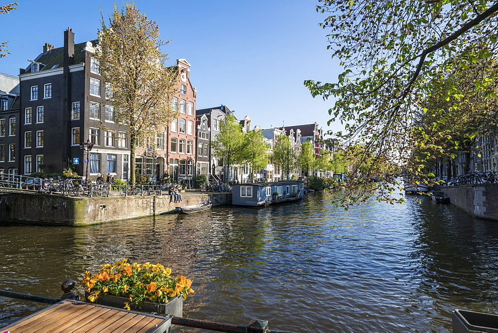 Herengracht Canal, Amsterdam, Netherlands, Europe