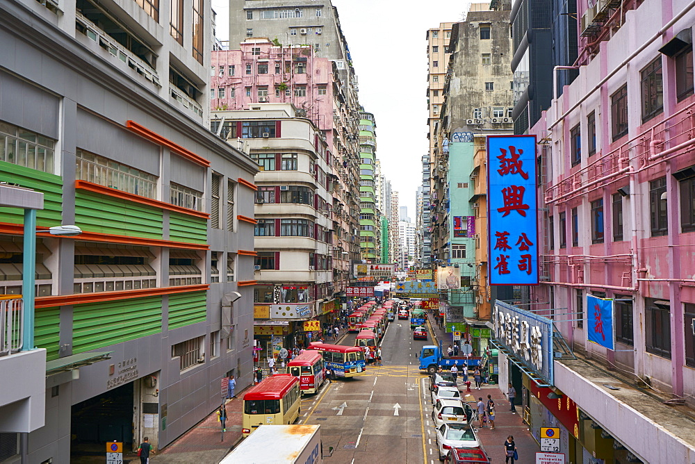 Mong Kok (Mongkok), Kowloon, Hong Kong, China, Asia