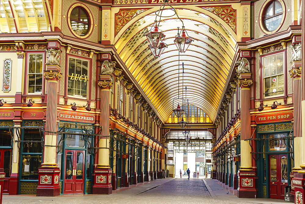 Leadenhall Market, City of London, London, England