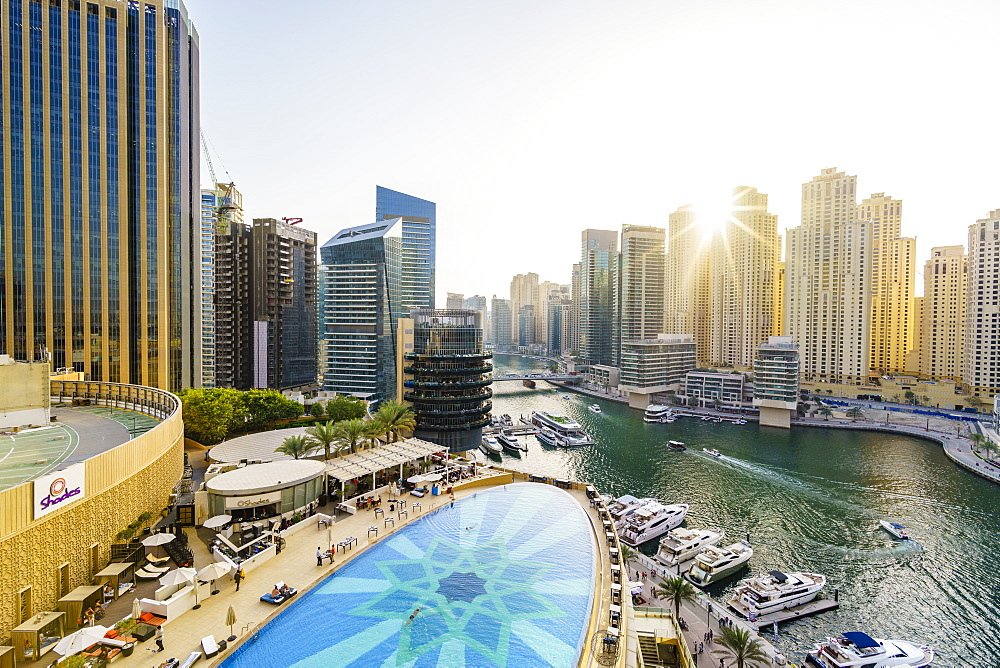 Dubai Marina, Dubai, United Arab Emirates, Middle East - 1226-632