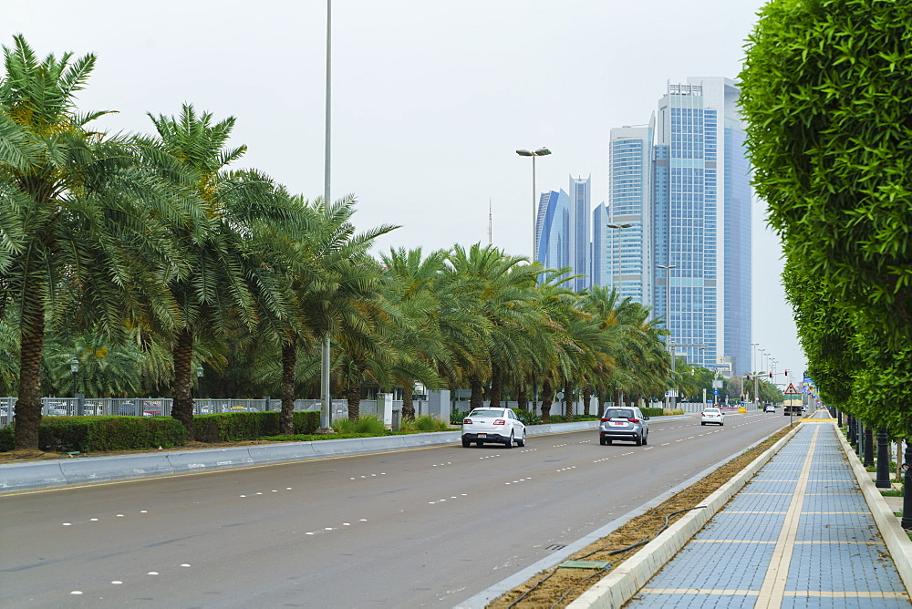 The Corniche, Abu Dhabi, United Arab Emirates, Middle East