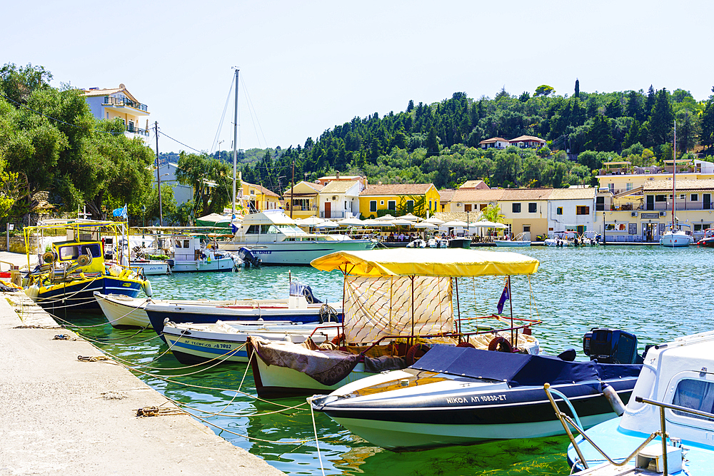 Lakka, Paxos, Ionian Islands, Greek Islands, Greece, Europe