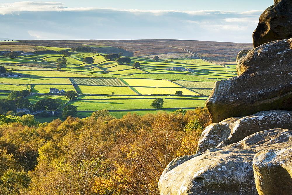 Fellbeck in Nidderdale near Pateley Bridge, North Yorkshire, England, United Kingdom, Europe