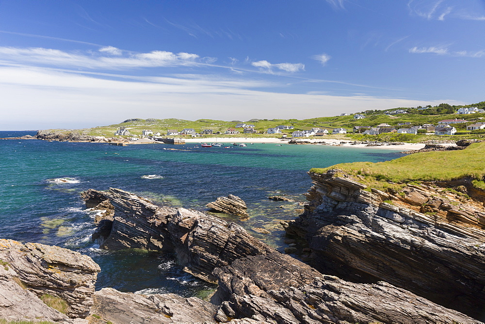 Portnablagh Atlantic Coast Donegal Ireland - 1228-78