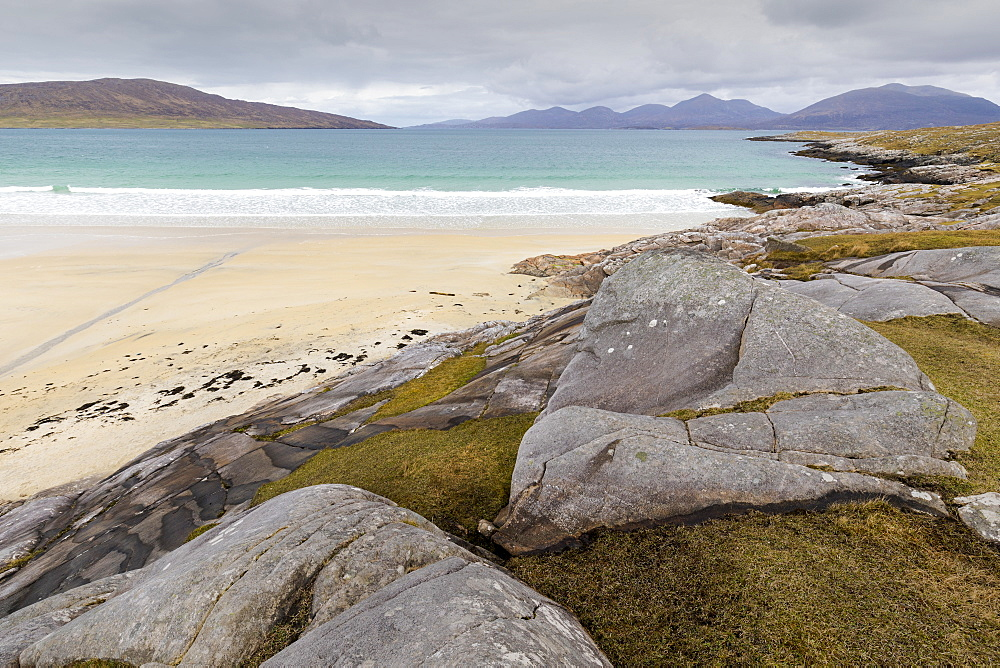 Luskentyre Beach, Isle of Harris, Outer Hebrides, Scotland, United Kingdom, Europe - 1237-100