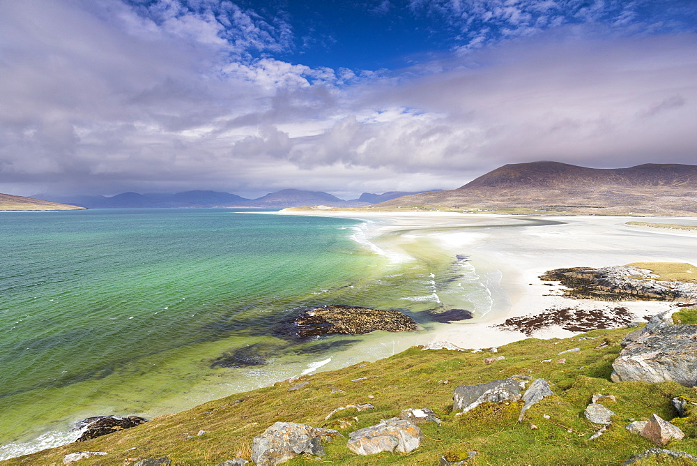 Seilebost Beach, Isle of Harris, Outer Hebrides, Scotland, United Kingdom, Europe - 1237-101