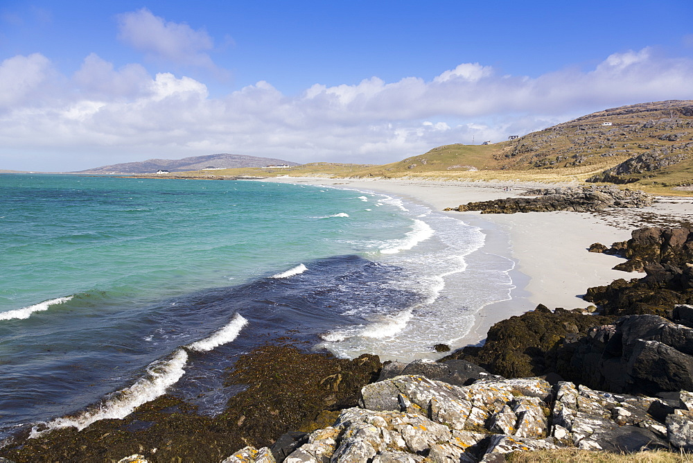 Prince's Beach (Coileag a' Prionnnsa), on the island of Eriskay in the Outer Hebrides, Scotland, United Kingdom, Europe - 1237-108
