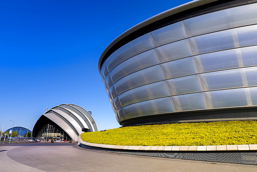 The Armadillo and the SSE Hydro, Glasgow, Scotland, United Kingdom, Europe - 1237-111