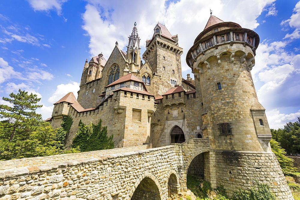 Burg Kreuzenstein castle, Leobendorf, Weinviertel Region, Lower Austria, near Vienna, Austria, Europe - 1237-120