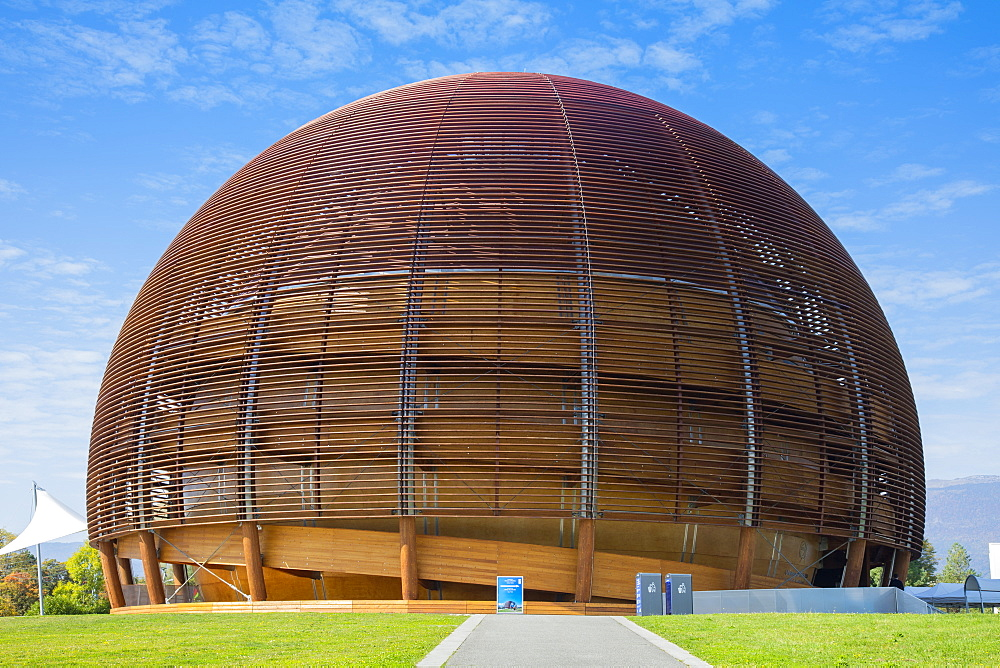 Globe of Science and Innovation, CERN, Geneva, Switzerland, Europe. - 1237-138