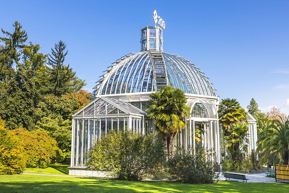 The Conservatory and Botanical Gardens, Geneva, Switzerland, Europe. - 1237-147