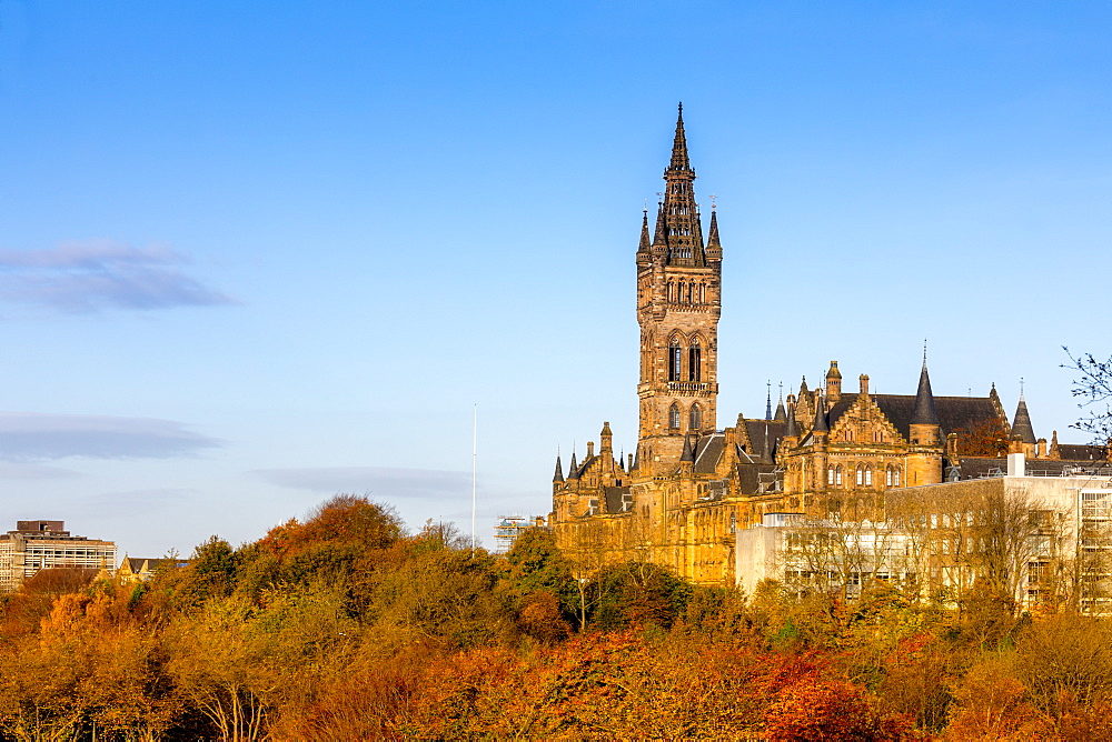 Glasgow University, Glasgow, Scotland, United Kingdom, Europe - 1237-160