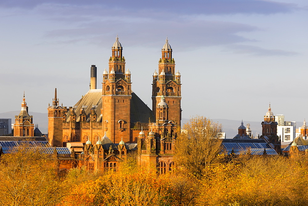 Kelvingrove Art Gallery and Museum, Glasgow, Scotland, United Kingdom, Europe