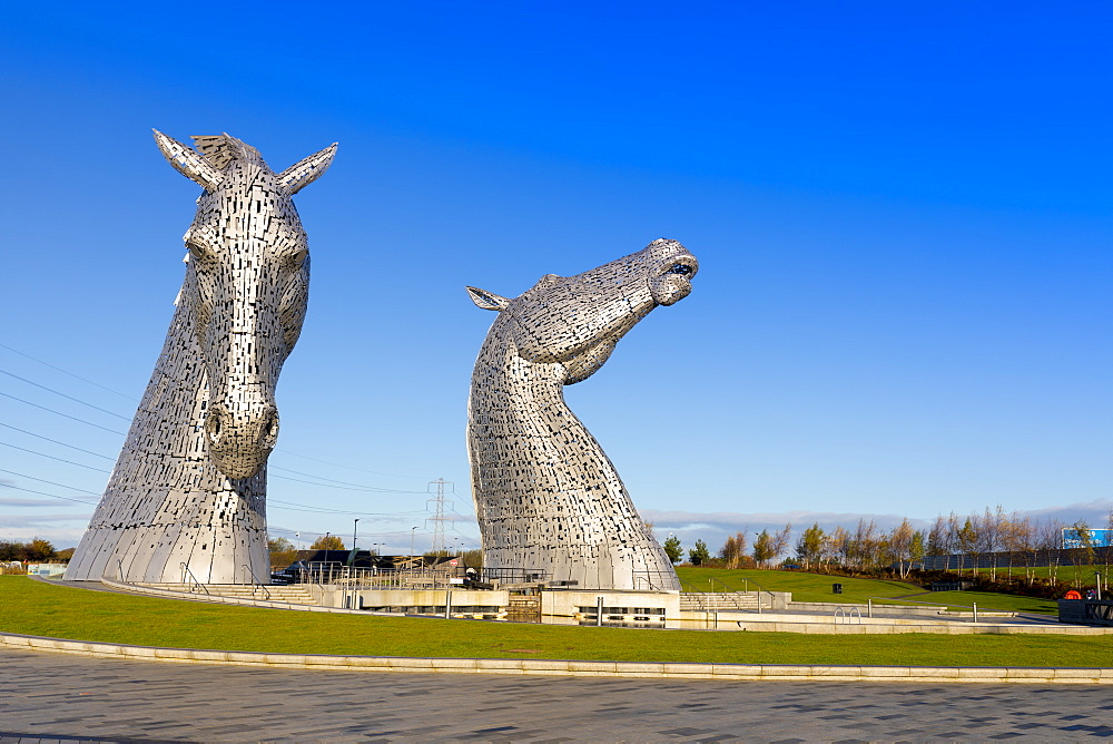 The Kelpies, The Helix Park, Falkirk, Scotland, United Kingdom, Europe - 1237-177