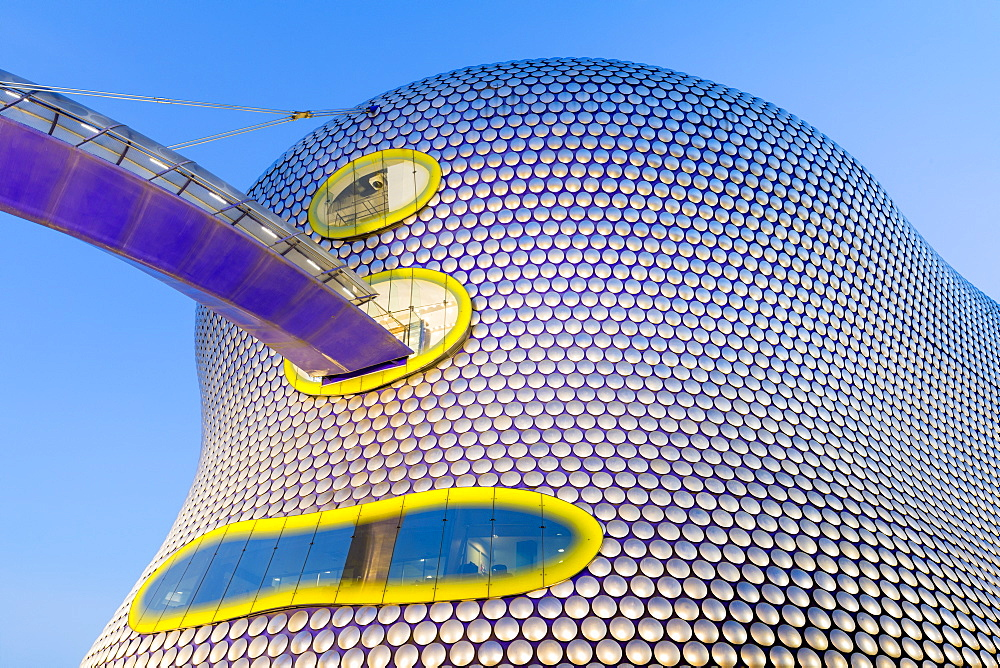 Selfridges Building at dusk, Birmingham, England, United Kingdom, Europe - 1237-196