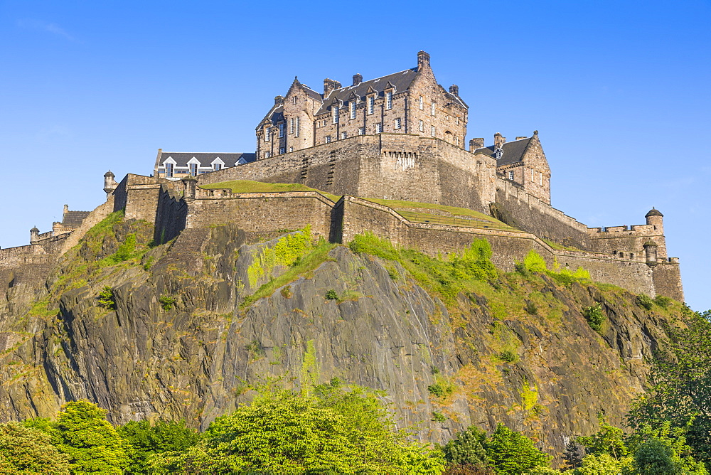 Edinburgh Castle, World Heritage Site, Edinburgh, Scotland, United Kingdom, Europe - 1237-200